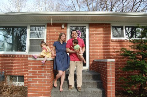 1950's House Family