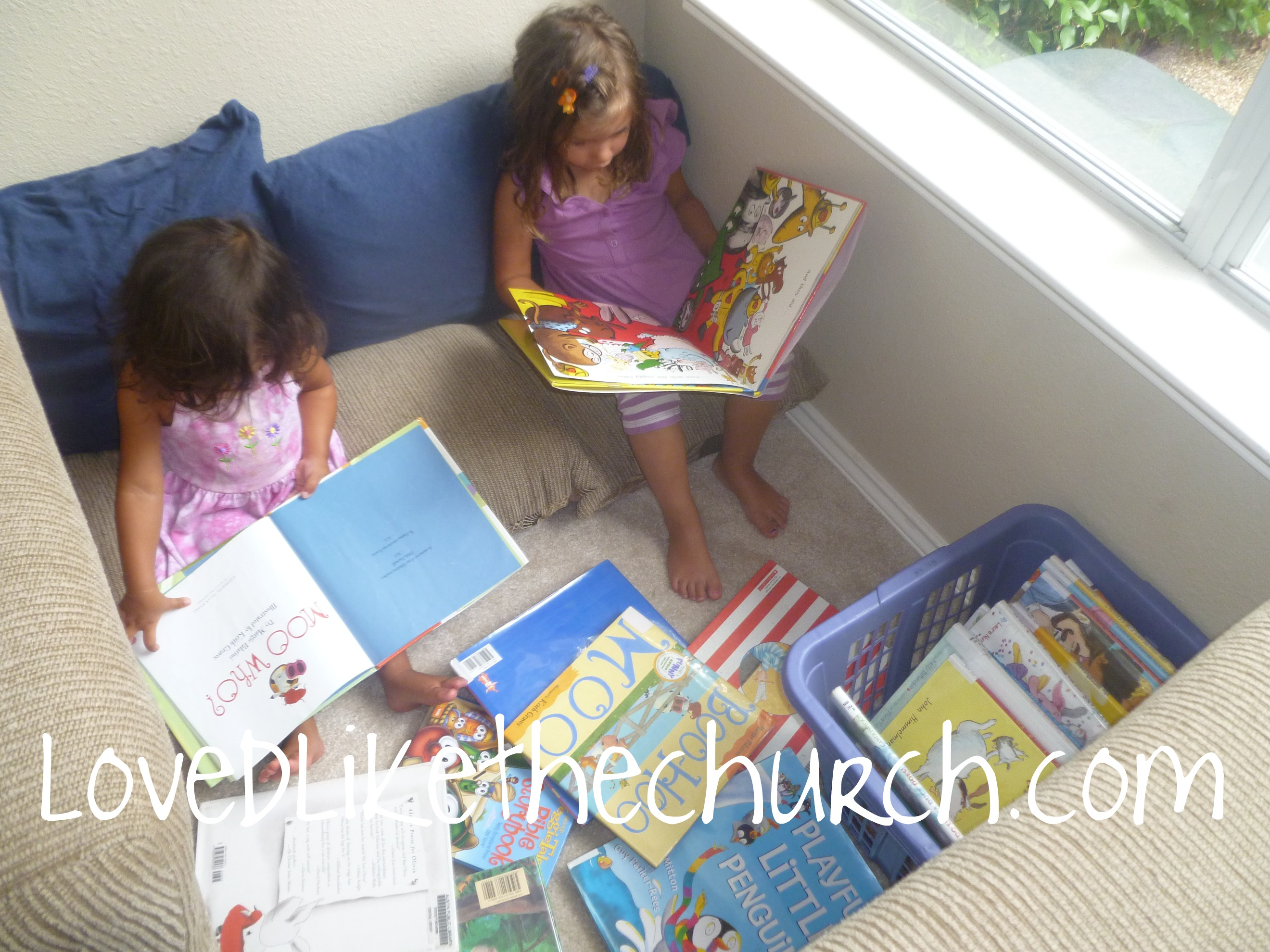 Reading Nook For Toddlers And Preschoolers A Wife Loved Like The