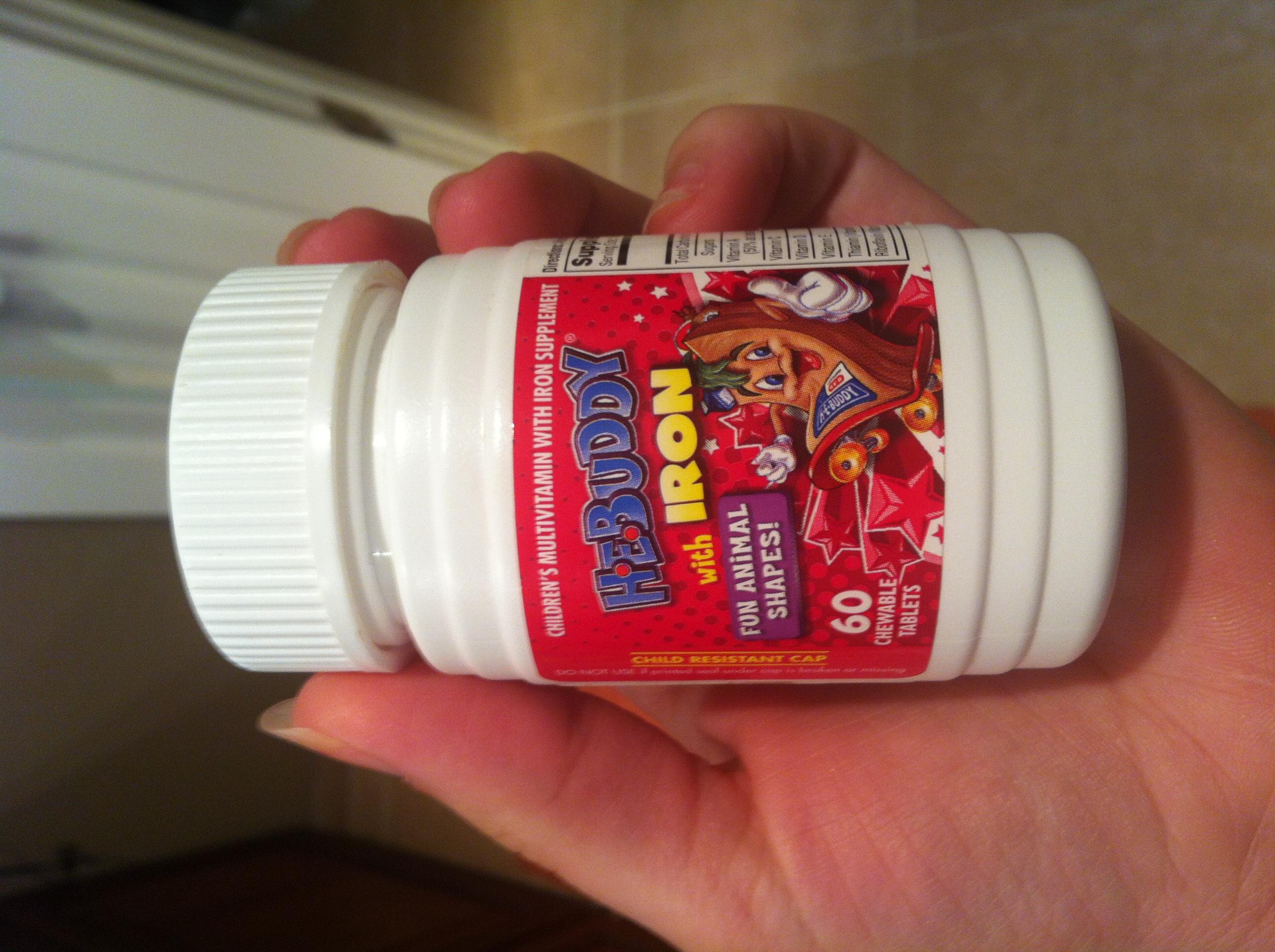 Adult flintstone vitamin