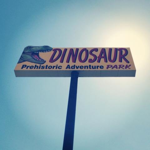 DinoParkSign