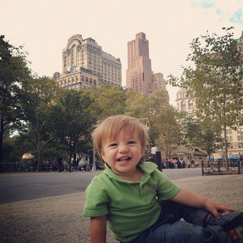 Joseph tagged along with me to NYC last fall for a wedding. He loved it.