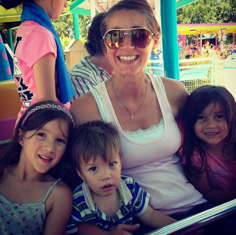 Day trip to Sea World - San Antonio, just me and the littles